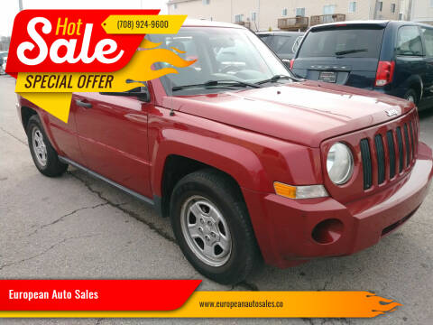 2009 Jeep Patriot for sale at European Auto Sales in Bridgeview IL