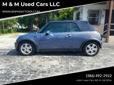 2005 MINI Cooper for sale at M & M Used Cars LLC in Daytona Beach FL