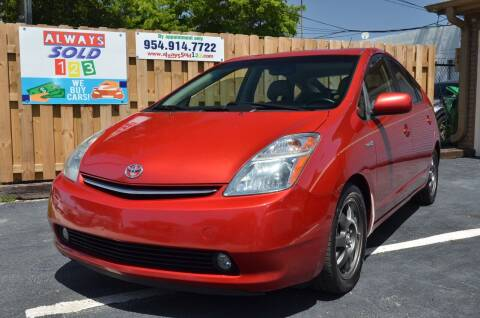 2009 Toyota Prius for sale at ALWAYSSOLD123 INC in Fort Lauderdale FL