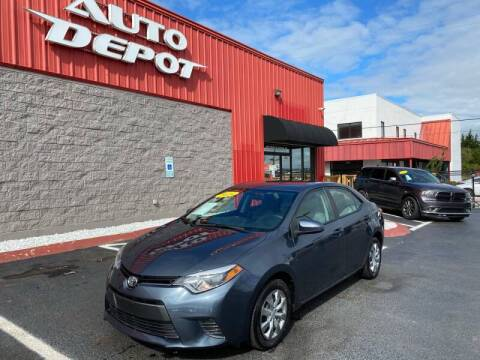 2016 Toyota Corolla for sale at Auto Depot of Smyrna in Smyrna TN