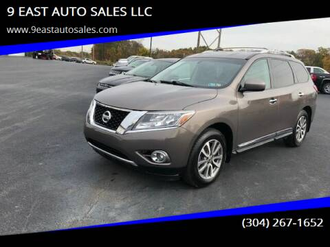 2014 Nissan Pathfinder for sale at 9 EAST AUTO SALES LLC in Martinsburg WV