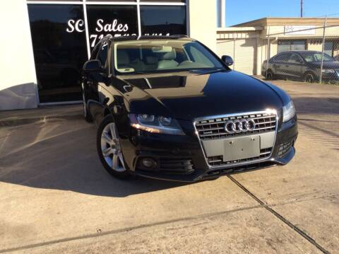 2009 Audi A4 for sale at SC SALES INC in Houston TX