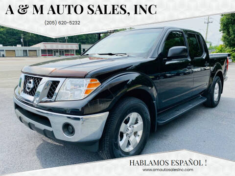 2011 Nissan Frontier for sale at A & M Auto Sales, Inc in Alabaster AL