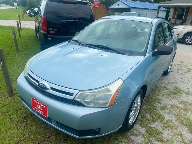 2009 Ford Focus for sale at Southtown Auto Sales in Whiteville NC