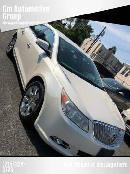 2012 Buick LaCrosse for sale at GM Automotive Group in Philadelphia PA