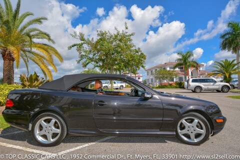 2001 Mercedes-Benz CLK for sale at Top Classic Cars LLC in Fort Myers FL
