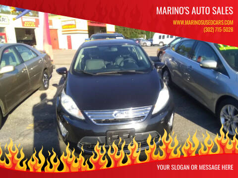 2013 Ford Fiesta for sale at Marino's Auto Sales in Laurel DE