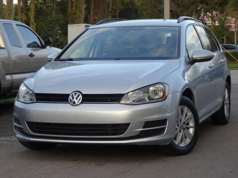 2016 Volkswagen Golf SportWagen for sale at Deal Maker of Gainesville in Gainesville FL