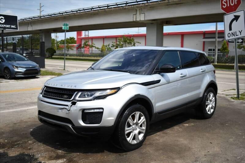 2016 Land Rover Range Rover Evoque for sale at STS Automotive - Miami, FL in Miami FL