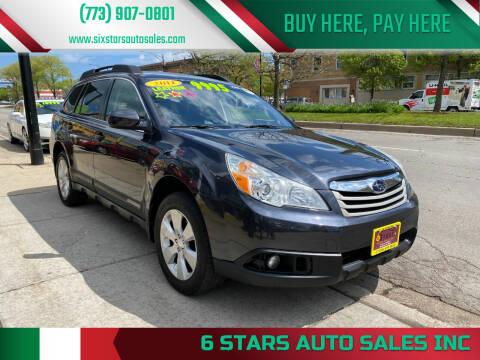 2011 Subaru Outback for sale at 6 STARS AUTO SALES INC in Chicago IL