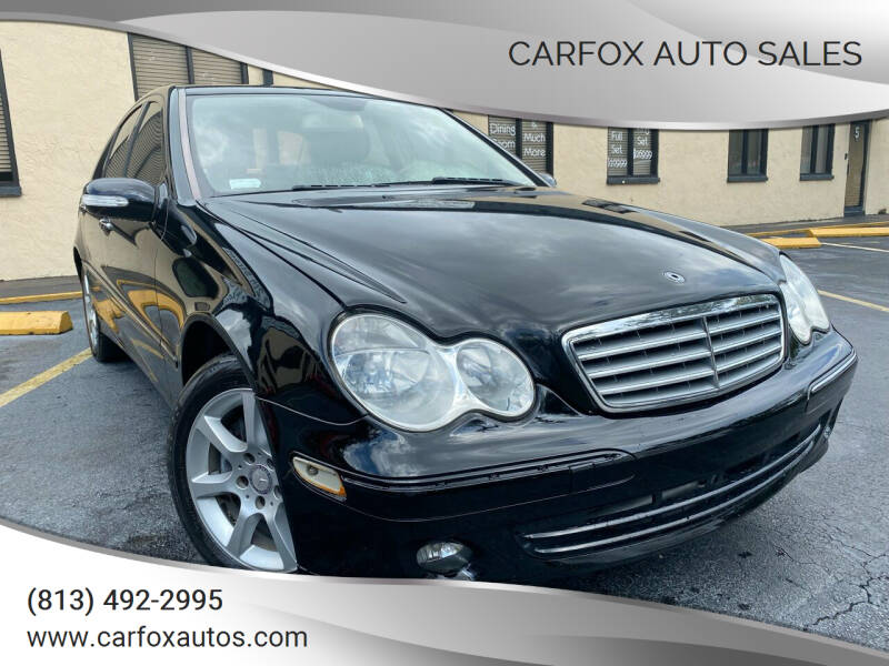2007 Mercedes-Benz C-Class for sale at Carfox Auto Sales in Tampa FL