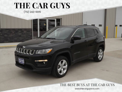 2018 Jeep Compass for sale at The Car Guys in Atlantic IA