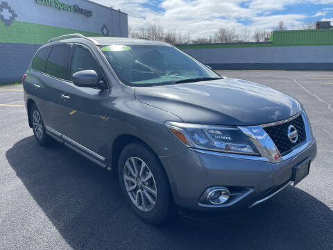 2015 Nissan Pathfinder for sale at South Shore Auto Mall in Whitman MA