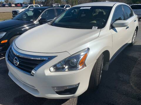 2015 Nissan Altima for sale at Drive Now Motors in Sumter SC