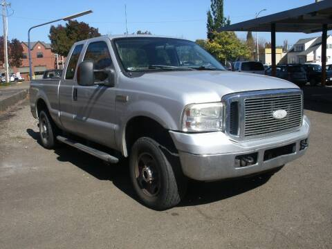 2007 Ford F-250 Super Duty for sale at D & M Auto Sales in Corvallis OR