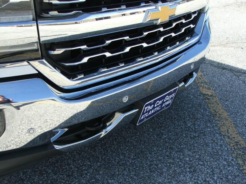 2016 Chevrolet Silverado 1500 4x4 LTZ 4dr Double Cab 6.5 ft. SB - Atlantic IA