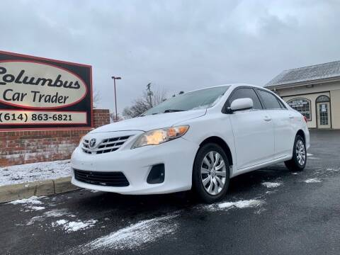 2013 Toyota Corolla for sale at Columbus Car Trader in Reynoldsburg OH