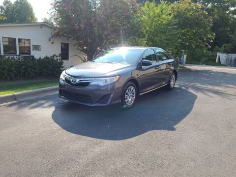 2012 Toyota Camry for sale at TR MOTORS in Gastonia NC