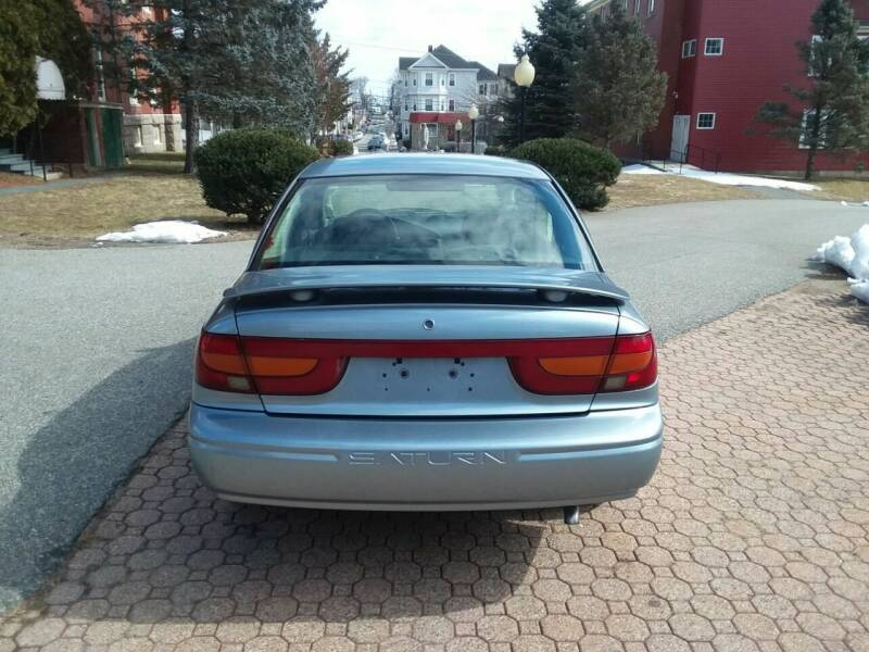 2002 Saturn S-Series SL1 4dr Sedan - South Darthmouth MA