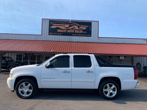 2008 Chevrolet Avalanche for sale at Ridley Auto Sales, Inc. in White Pine TN