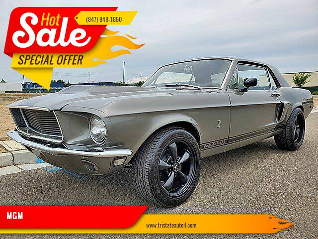 1968 Ford Mustang for sale at MGM CLASSIC CARS in Addison IL