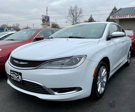 2015 Chrysler 200 for sale at WOLF'S ELITE AUTOS in Wilmington DE