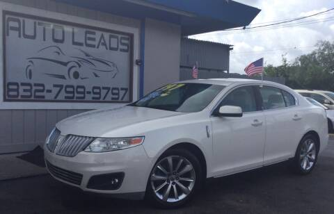 2009 Lincoln MKS for sale at AUTO LEADS in Pasadena TX