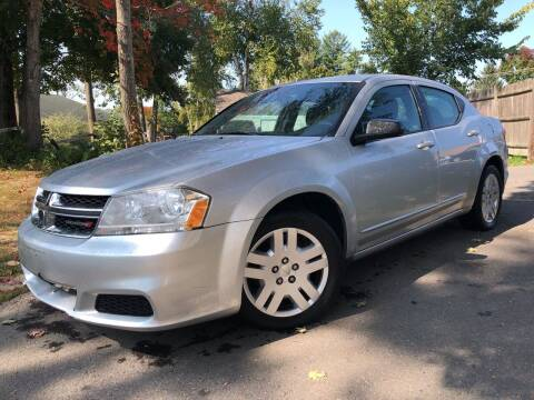 2012 Dodge Avenger for sale at J's Auto Exchange in Derry NH