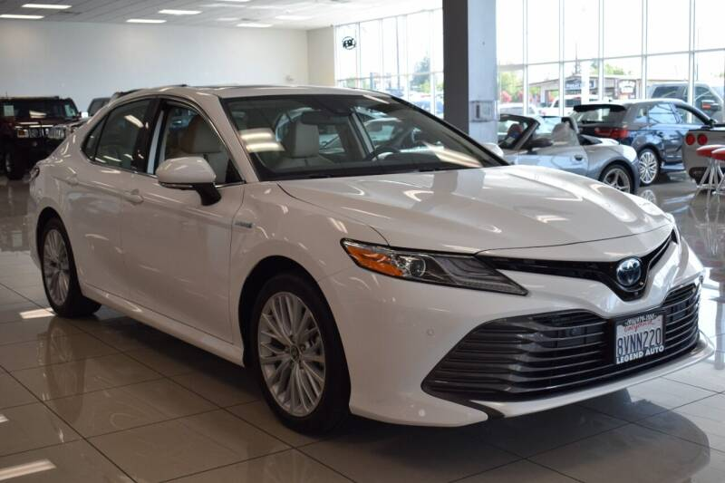 2020 Toyota Camry Hybrid for sale at Legend Auto in Sacramento CA