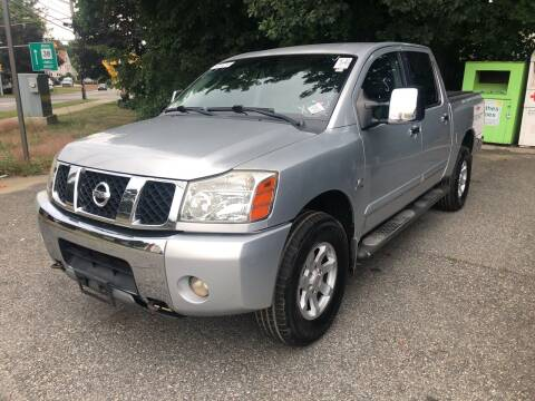 2004 Nissan Titan for sale at Barga Motors in Tewksbury MA