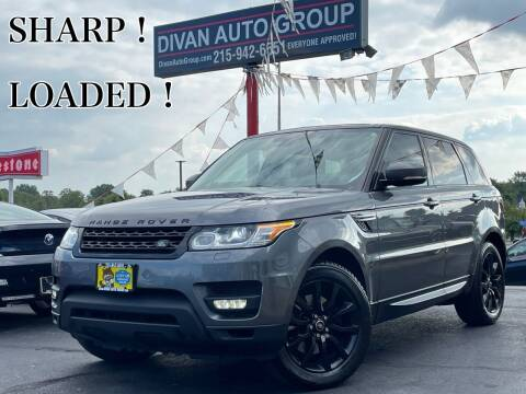 2014 Land Rover Range Rover Sport for sale at Divan Auto Group in Feasterville Trevose PA