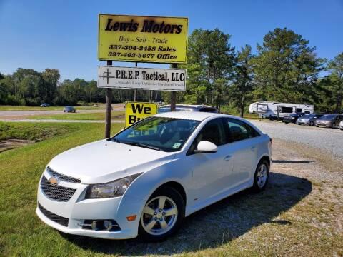 2014 Chevrolet Cruze for sale at Lewis Motors LLC in Deridder LA