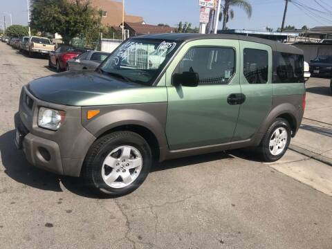 2004 Honda Element for sale at Olympic Motors in Los Angeles CA