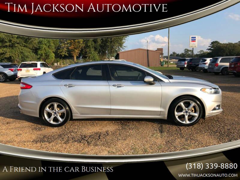 2016 Ford Fusion for sale at Tim Jackson Automotive in Jonesville LA
