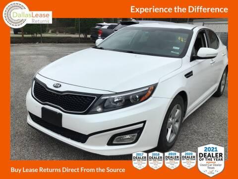 2015 Kia Optima for sale at Dallas Auto Finance in Dallas TX