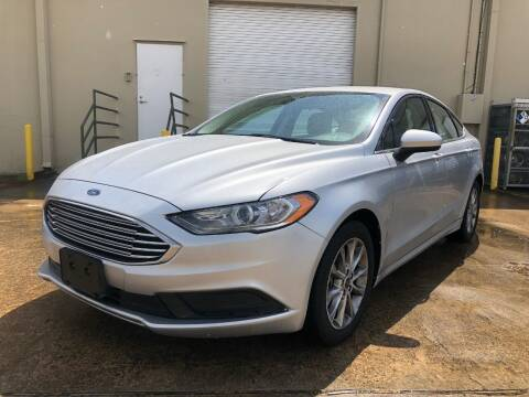 2017 Ford Fusion for sale at The Auto & Marine Gallery of Houston in Houston TX