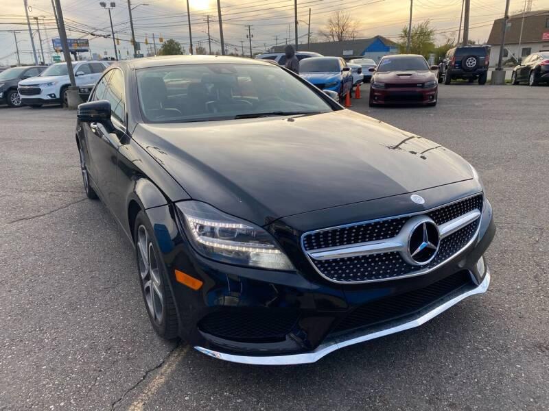 2015 Mercedes-Benz CLS for sale at M-97 Auto Dealer in Roseville MI