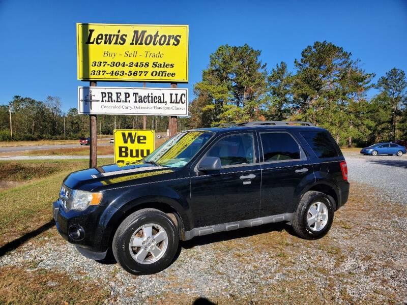 2012 Ford Escape for sale at Lewis Motors LLC in Deridder LA