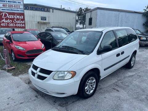 2006 Dodge Grand Caravan for sale at DAVINA AUTO SALES in Casselberry FL