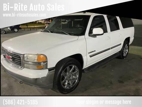 2003 GMC Yukon XL for sale at Bi-Rite Auto Sales in Clinton Township MI