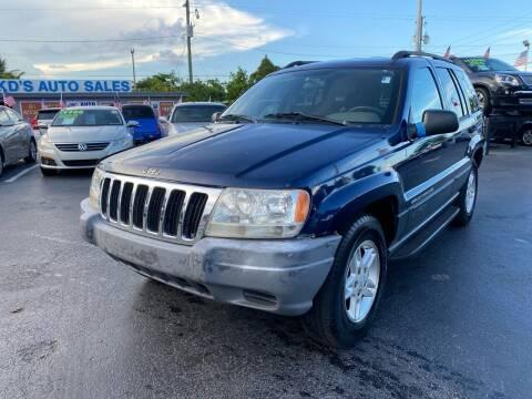 2003 Jeep Grand Cherokee for sale at KD's Auto Sales in Pompano Beach FL