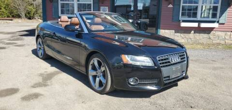 2012 Audi A5 for sale at Village Car Company in Hinesburg VT