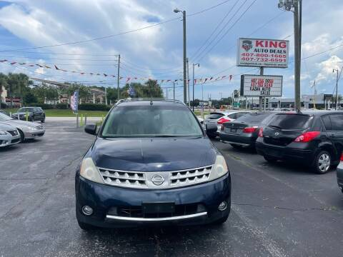 2006 Nissan Murano for sale at King Auto Deals in Longwood FL