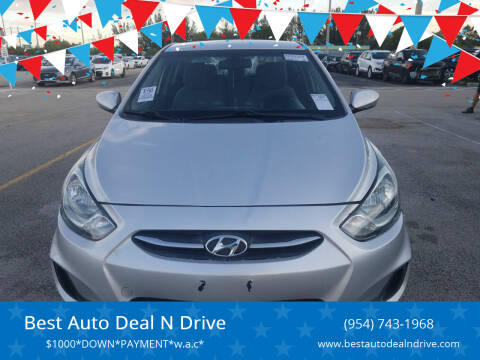 2014 Hyundai Accent for sale at Best Auto Deal N Drive in Hollywood FL