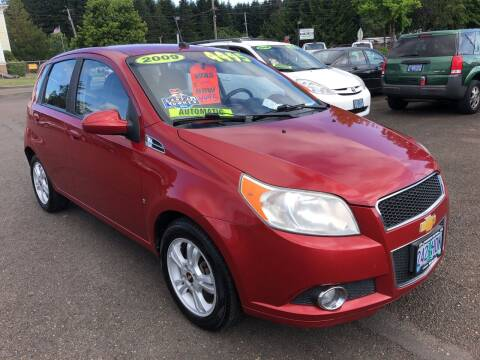 2009 Chevrolet Aveo for sale at Freeborn Motors in Lafayette, OR