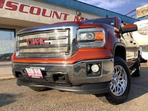 2015 GMC Sierra 1500 for sale at Discount Motors in Pueblo CO