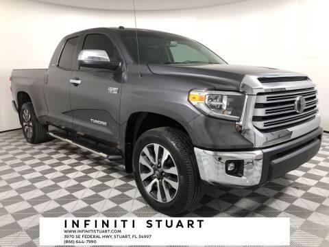 2018 Toyota Tundra for sale at Infiniti Stuart in Stuart FL