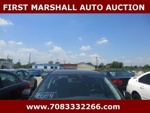 2011 Mazda MAZDA3 for sale at First Marshall Auto Auction in Harvey IL
