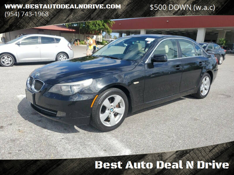 2008 BMW 5 Series for sale at Best Auto Deal N Drive in Hollywood FL