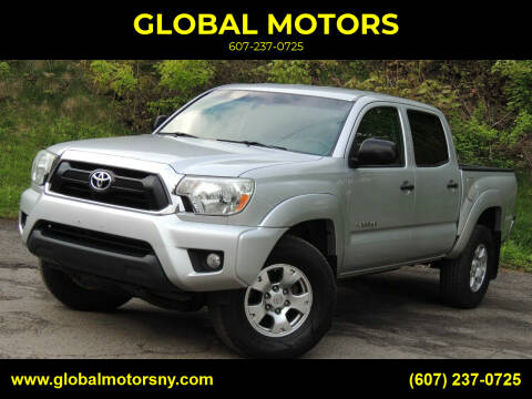 2013 Toyota Tacoma for sale at GLOBAL MOTORS in Binghamton NY